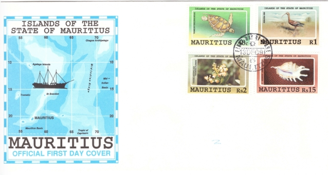 1991 13 Dec - Islands of the state of Mauritius