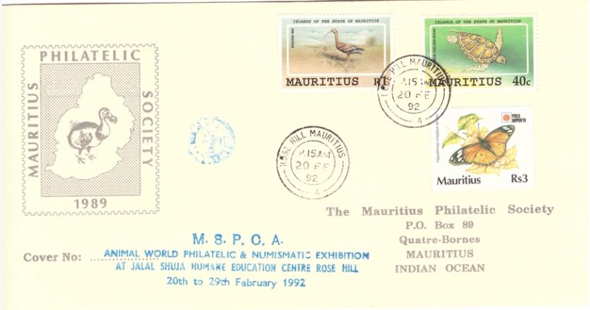 1992 20 Feb - MSPCA Animal world - MPS SC