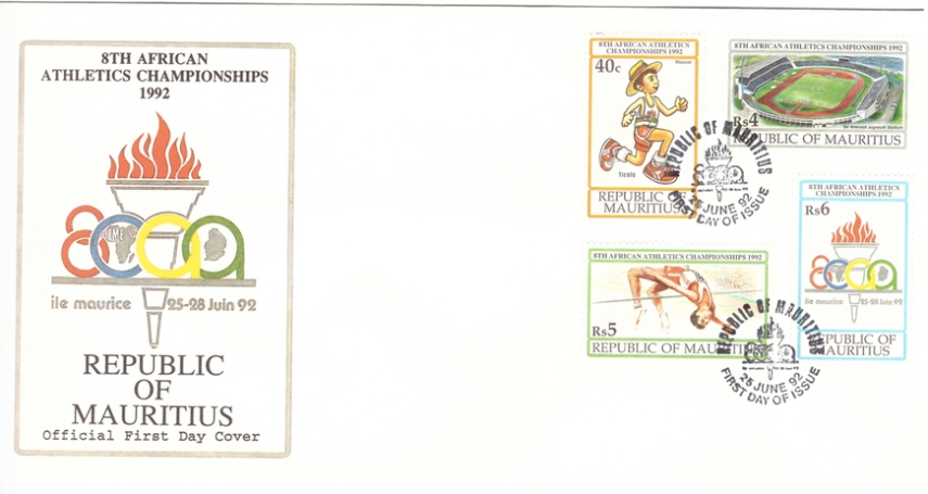 1992 25 June - 8th African Atheletics championships