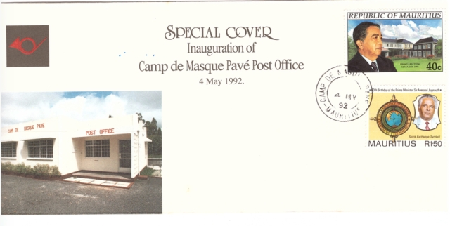 1992 4 May - Inauguration of Camp de Masque PO_SC
