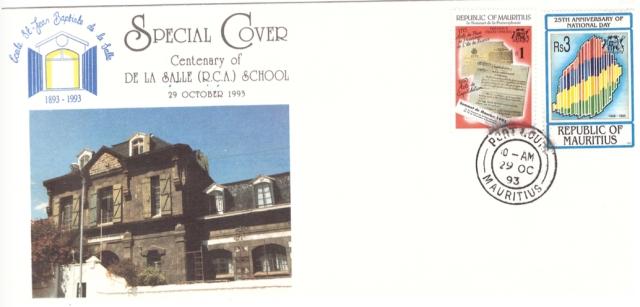 1993 29 Oct - Centenary De la Salle School - SC