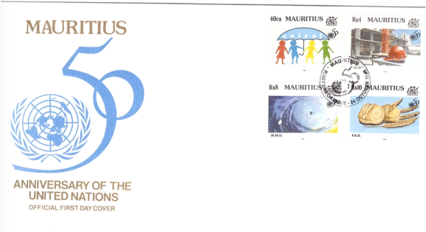 1995 24 Oct - 50 Anniv UN