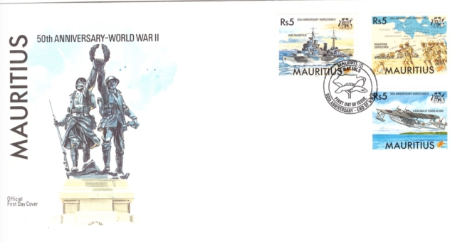 1995 8 May - 50th anniv world war II