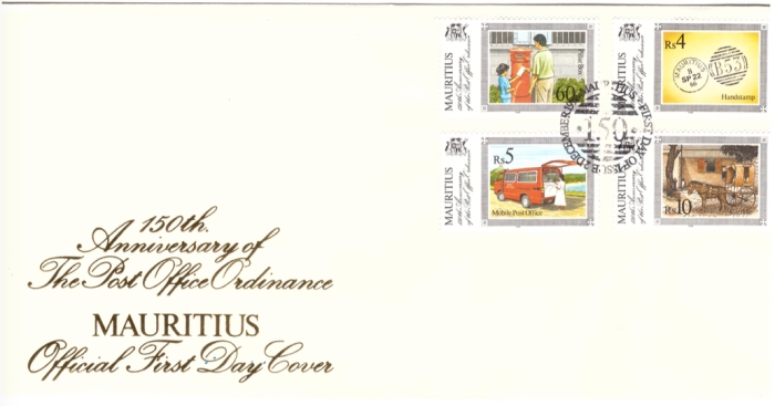 1996 19 Dec - 150th anniversary of Post Office ordinance