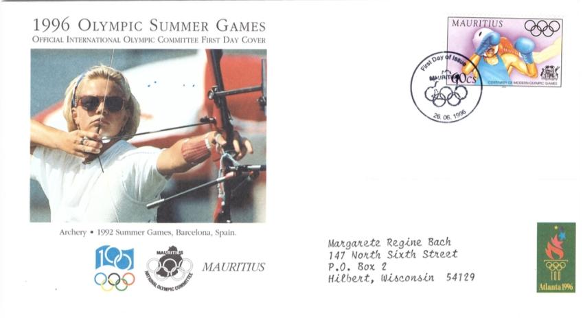 1996 26 June - 1996 olympics summer games SC