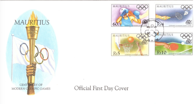 1996 26 June - centenary of modern olympics OFC