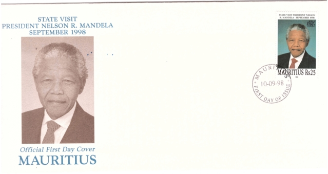 1998 10 Sep - Official visit of N. Mandela