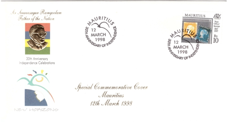 1998 12 March - 30th anniv independence SCC