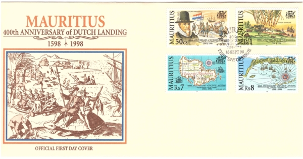 1998 18 Sep - 400th anniversary Dutch Landing