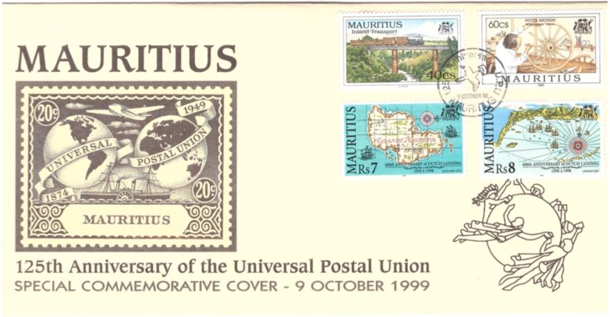 1999 9 Oct - 125th anniv UPU