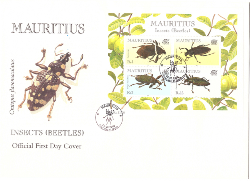 2000 29 March - Beetles Sheet Cover