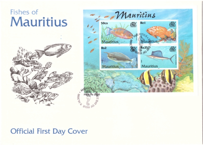 2000 9 Oct - Fishes of Mauritius Sheet cover_1