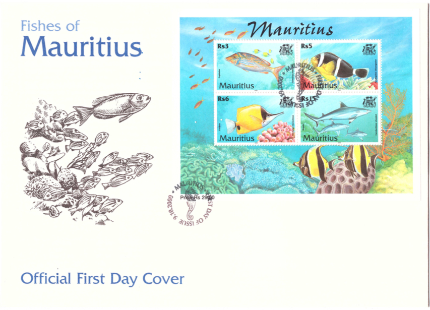 2000 9 Oct - Fishes of Mauritius Sheet Cover_2