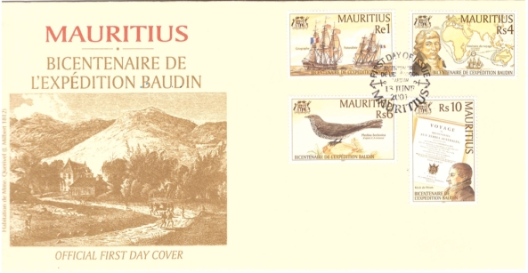 2001 13 June - bicentenaire expedition Baudin