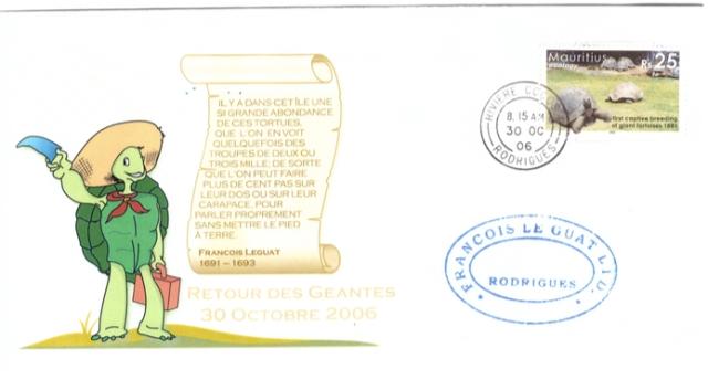 2006 30 Oct - Retour des geantes Rodrigues