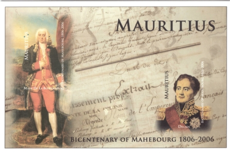 2006 4 Feb - Bicentenary of Mahebourg postcard_1