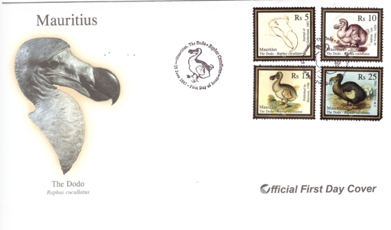 2007 25 June - The Dodo FDC