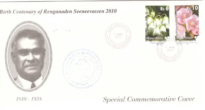 2010 9 Oct - Birth centenary Seeneevassen