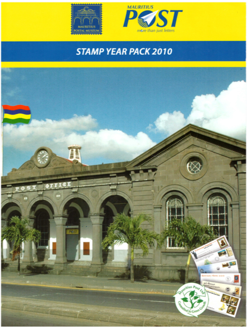2010 Stamp year pack