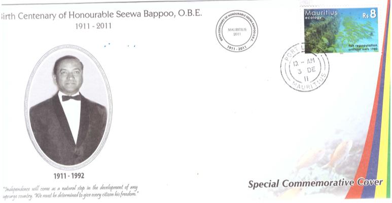 2011 3 Dec - Birth Centenary Bappoo