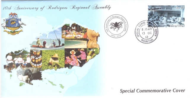 2012 13 Oct - 10th Anniv of Rodrigues Regional Assembly