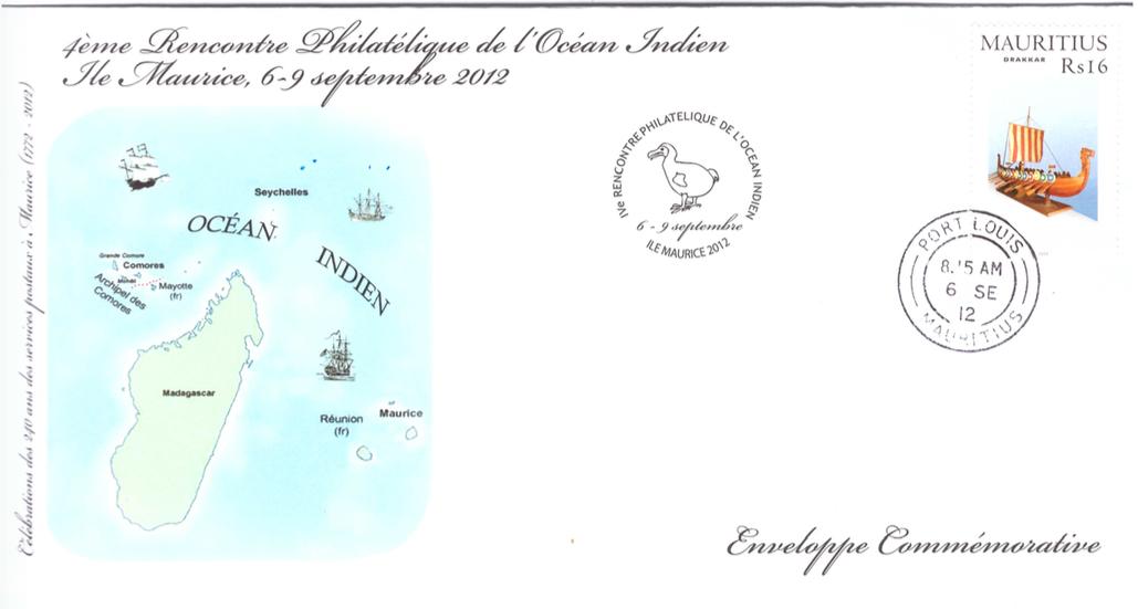 2012 6 Sep - 4eme rencontre philatelique de l'OI