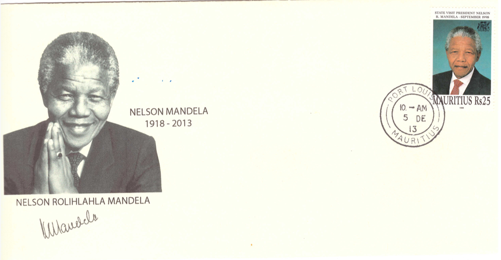 2013 5 Dec - Mandela Special Cover