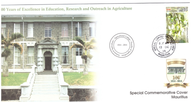 2014 13 Oct - 100 yrs excellence in Educ, research and outreach in Agric