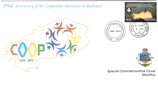 2014 8 Aug - 90th Anniv of Coop mvt Rodrigues