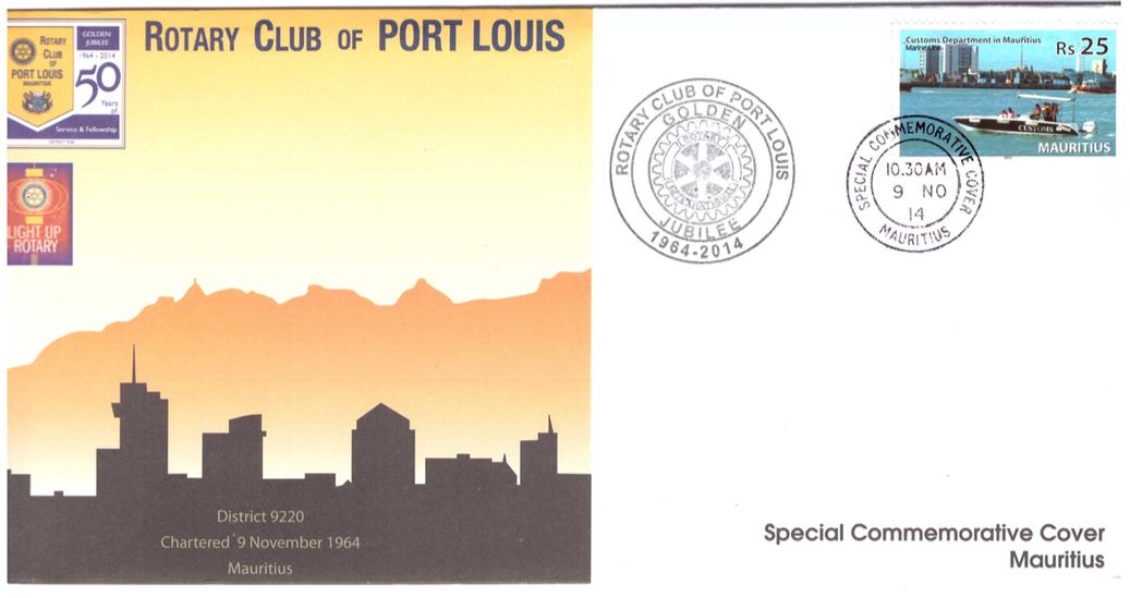 2014 9 Nov - Rotary club P.Louis Golden Jubilee