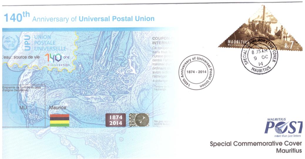 2014 9 Oct - 140th Anniv UPU