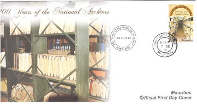 2015 5 Dec - 200 yrs national archives