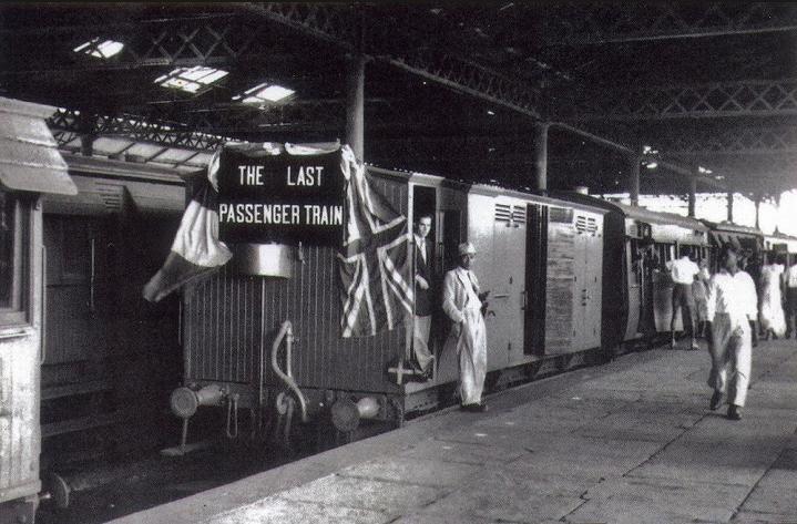 last passenger train