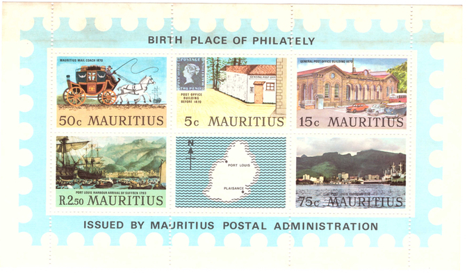 MS Birthplace of philately