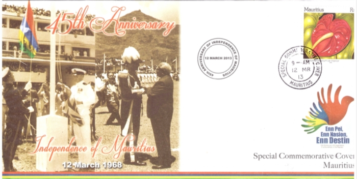 2013 - 45th anniv independence