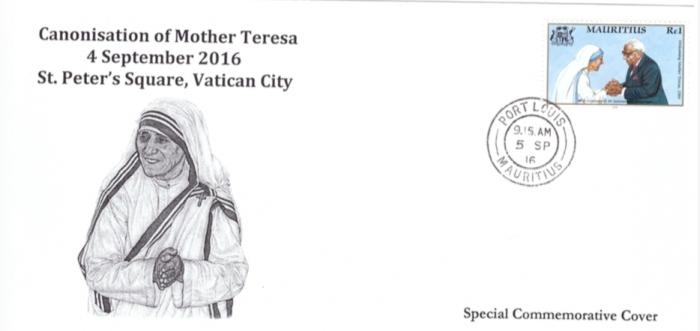 2016 - Mother Teresa