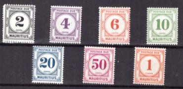 1966 Postage due