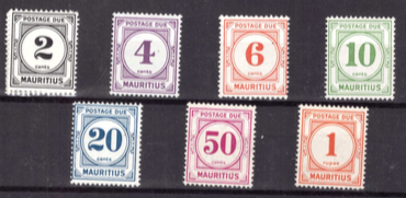 1966 Postage due